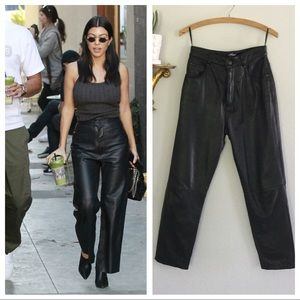 Vintage Wilson's Leather High Waist Pants